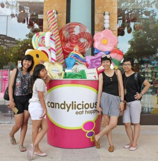 Family vacation - Universal Studio, Singapore