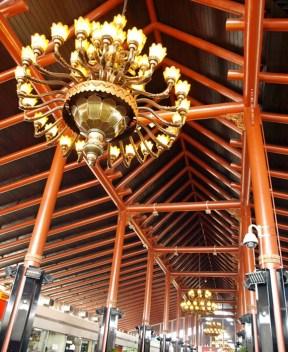 Joglo architecture at Jakarta Int'l Airport
