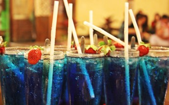 Strawberry Blue Ice