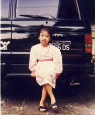 - When my eldest daughter 6 years old (2002) -