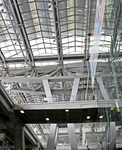 Architectural Suvarnabhumi Airport, Bangkok