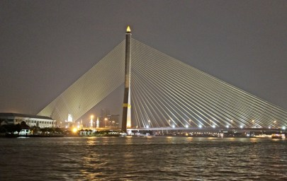 Bangkok Bridge, Chao Pharaya River, Bangkok