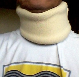 Wearing the 'collar' make me better