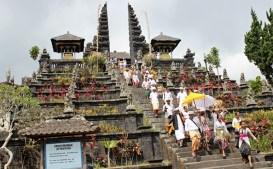 The doorstep Besakih Temple, Bali