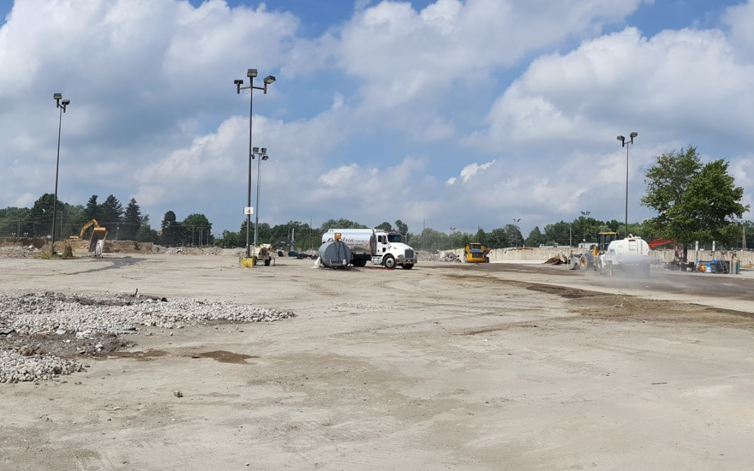 Former Granite Run Mall Site Demolition Completed