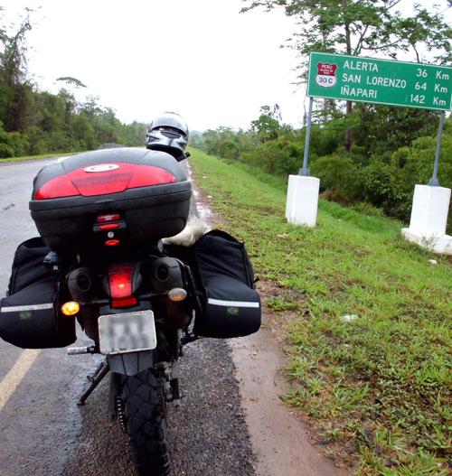 O Brasil a menos de 150 km