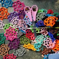 Nova Russas - Moradores da comunidade rural de Irapuá aumentam a renda familiar com artesanato (Fernando Frazão/Agência Brasil)