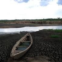 Crateús - A falta de água no Açude Carnaubal prejudica o abastecimento da cidade (Fernando Frazão/Agência Brasil)