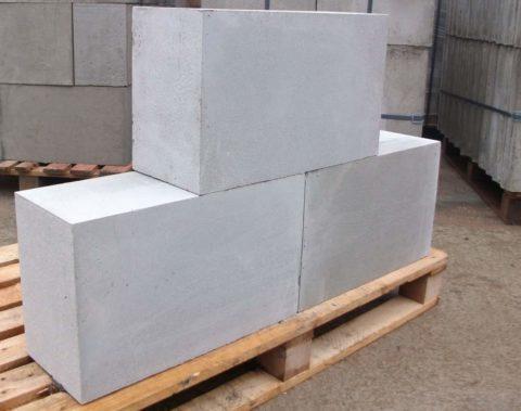 Gasilicate blocks