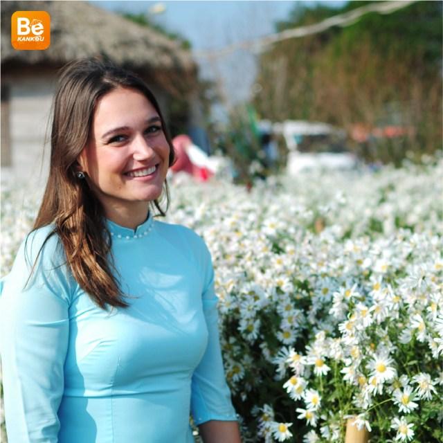 11月には、ハノイのデイジー(ヒナギク)の花に会う予定-112