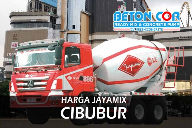 harga beton cor ready mix jayamix cibubur
