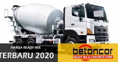 harga beton ready mix terbaru 2020