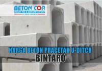 harga beton precast u ditch bintaro