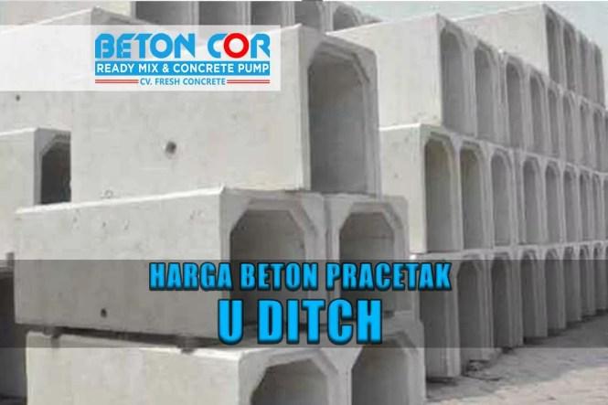 harga beton pracetak u ditch