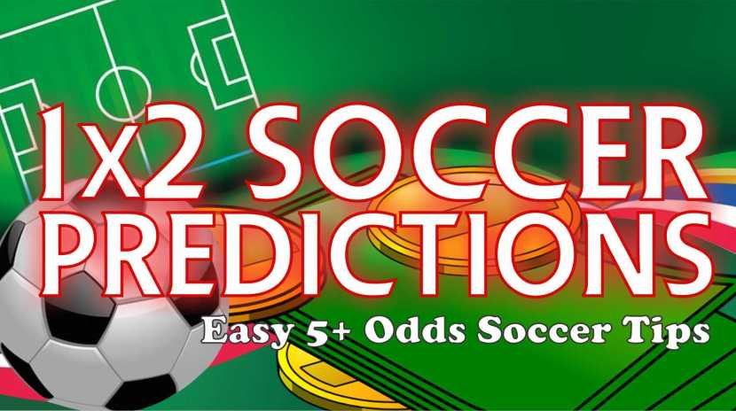 1x2 Soccer Prediction Betting Tips from #1 Betting Tipsters