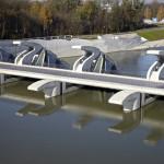 Bild 4: Lehen Riverbed Sill Power Plant, Österrike.
