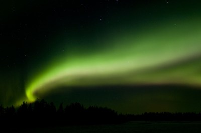 Northern Lights, Aurora borealis, Kiruna, Lapland, Sweden. Foto: Bildagentur Zoonar GmbH / Shutterstock