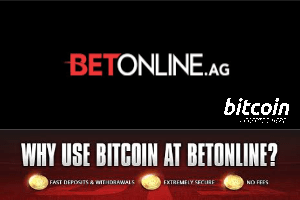 BetOnline accepts Bitcoin