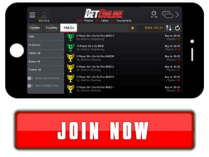 Join BetOnline Poker Mobile