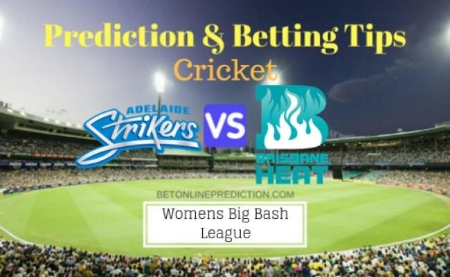 Adelaide Strikers Women V Brisbane Heat Women 3rd T20