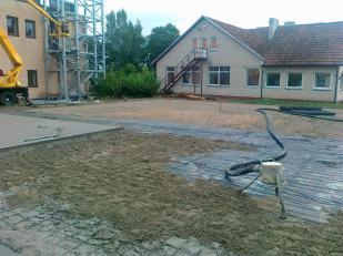 Paparčiu kaimo infrastruktūros plėtra