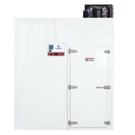 Câmara Fria Gallant 01R-ECP 2×1 Painéis Resfriado Standard com Piso Pain com Cond Elgin 220V Mono