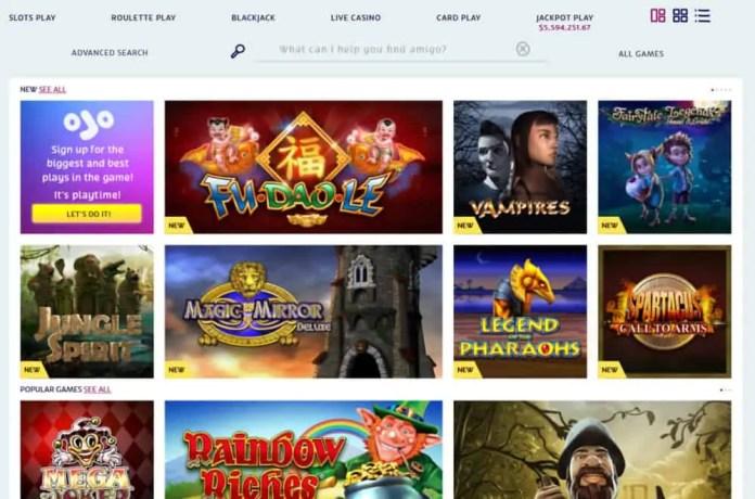 play ojo mobile casino