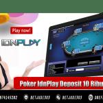 Poker IdnPlay Deposit 10 Ribu Bank Lokal