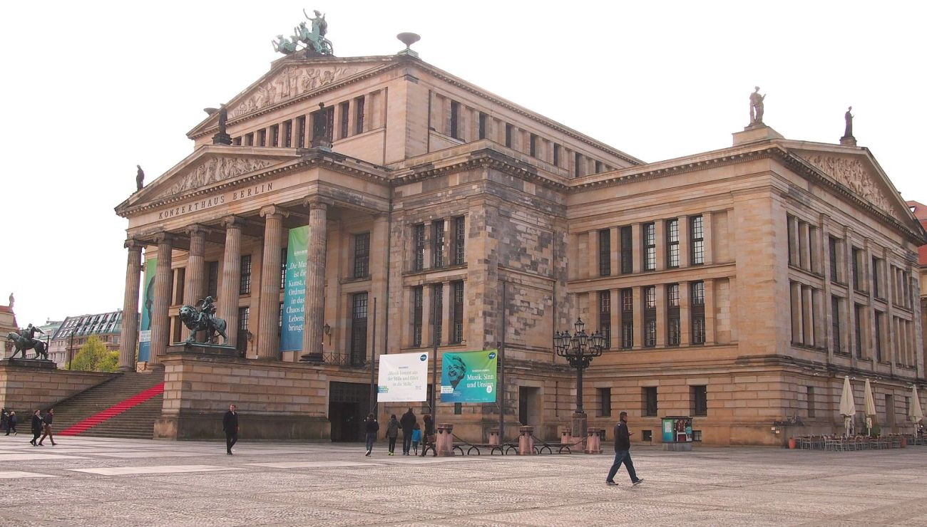 The Berlin concert hall, location of the Musikfest