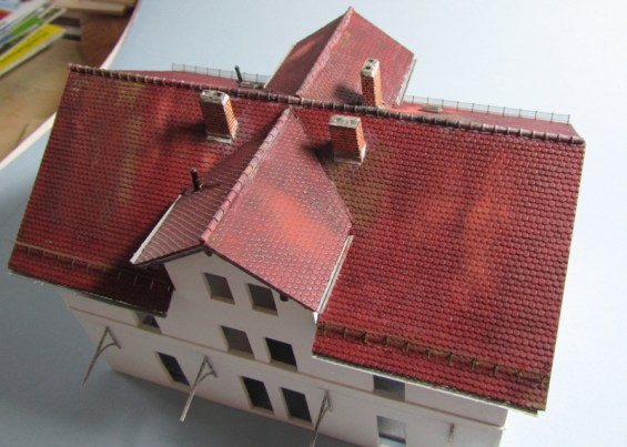 Dach, Alterung