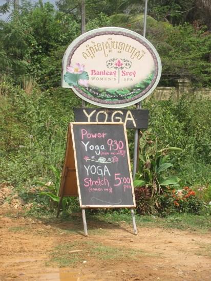 Banteay Srey Women's spa in Kampot.