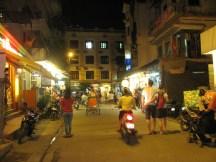 Near the restaurant where ate in Hue