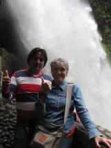 Waterfalls at Banos.