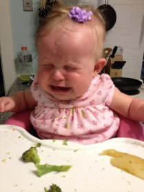sometimes dinner ends badly if it runs into bedtime :)