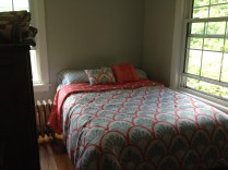 lighter paint and new linens