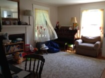 old dining room/new playroom