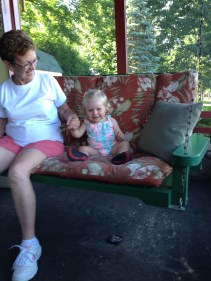 Bunnas love to swing!