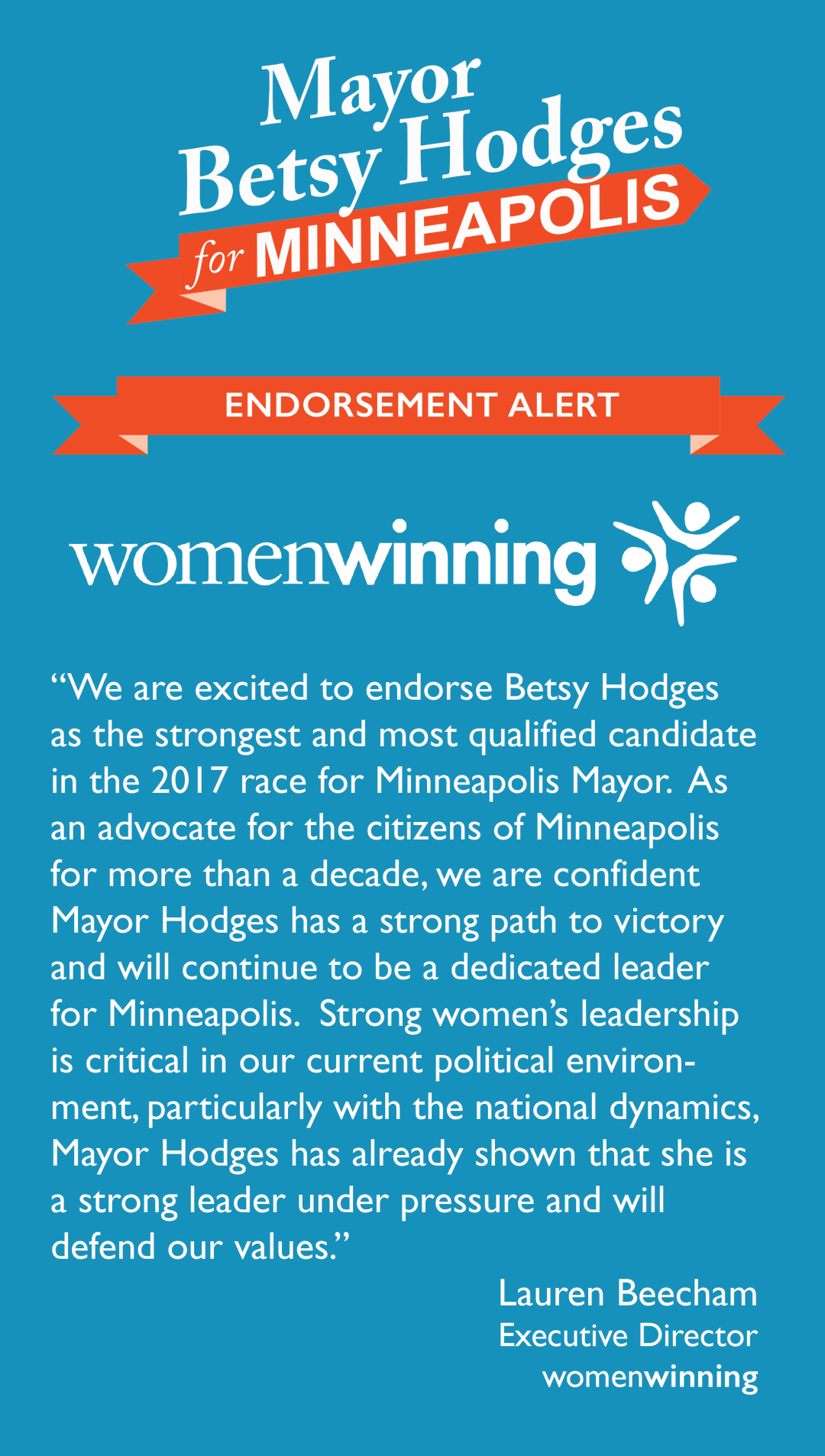 womenwinning endorsement