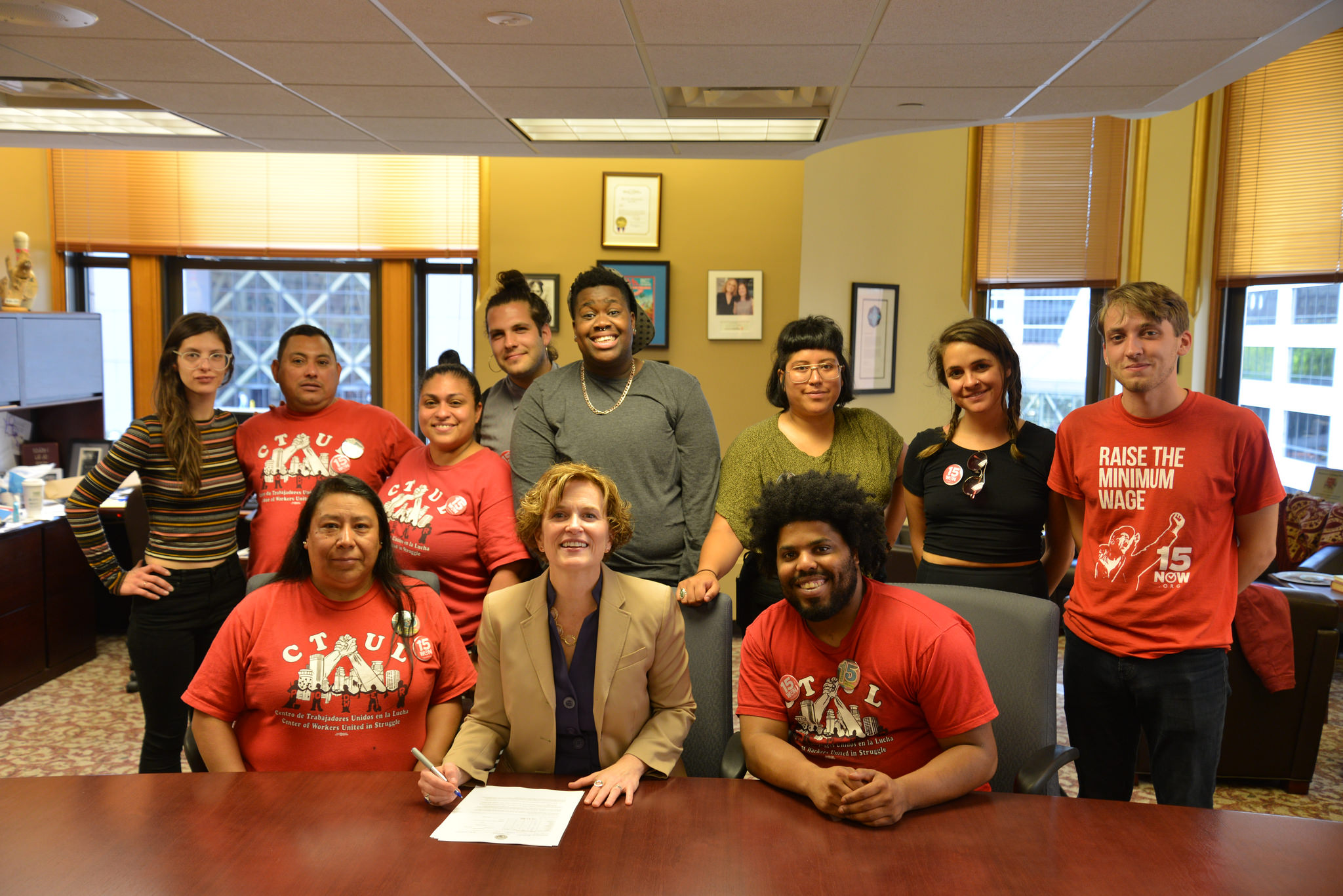 Press Release: Mayor Hodges Discusses Minimum Wage and Tip Penalty