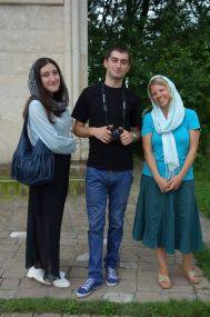 Ana, Giorgi, and me.