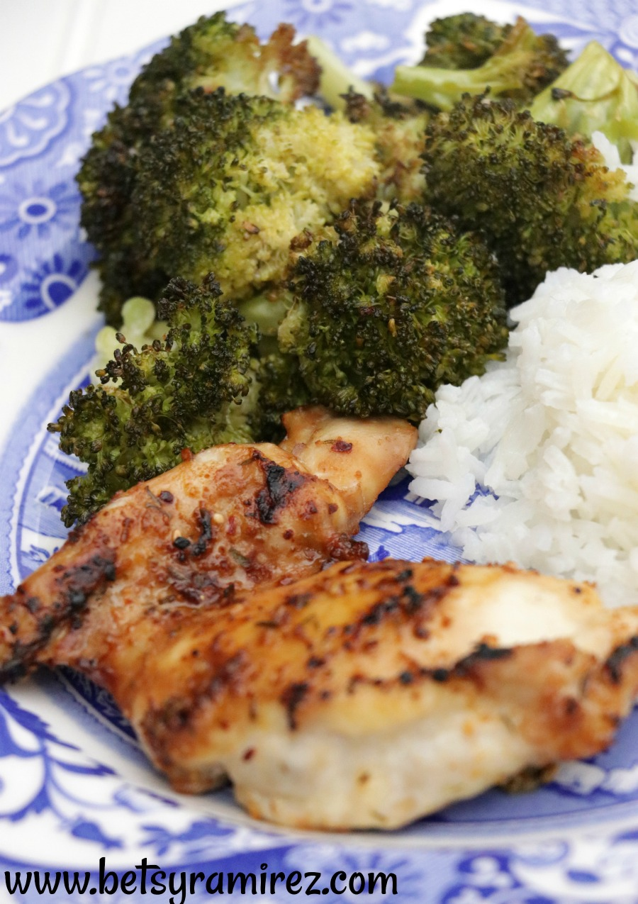 30 minute sheet pan asian chicken and broccoli makes a healthy and fast dinner