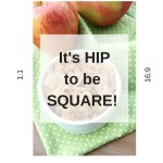 It's Hip to be Square: How to Square Your Food Video