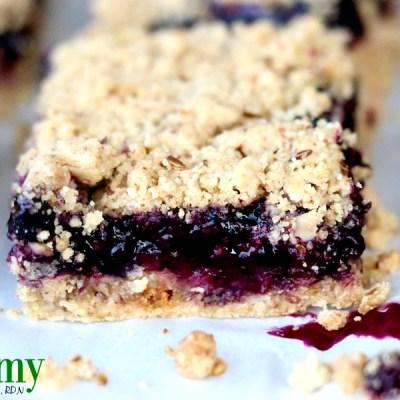 Blueberry Oat Bars – Gluten Free, Dairy Free