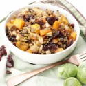 Roasted Brussels and Butternut Salad
