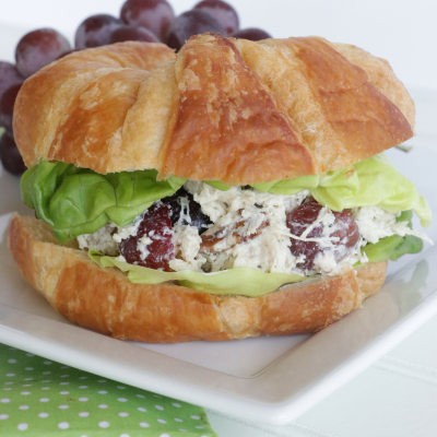 Instant Pot Chicken Salad with Grapes and Pecans
