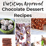 Give the gift of chocolate with more than 20 chocolate dessert recipes from Registered Dietitians!