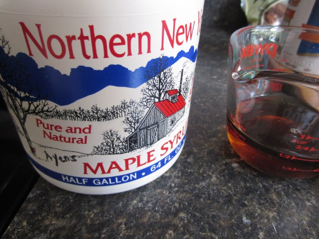 Pure maple syrup from Upstate New York!