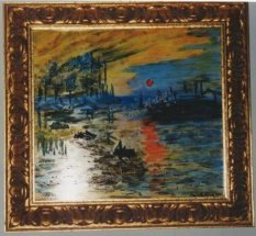 Reproduction - Monet, Sunrise