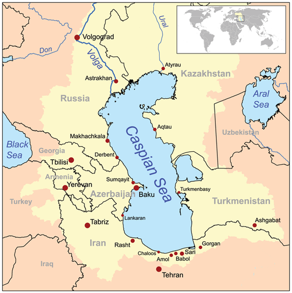 Caspian Sea and littoral states
