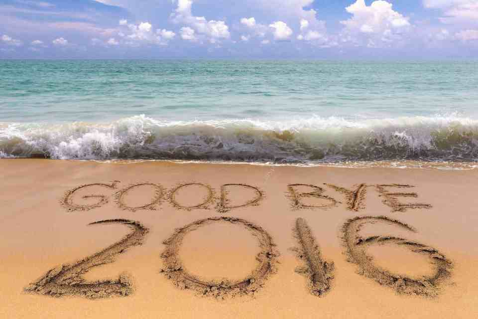 Beach good bye 2016